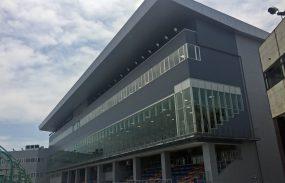 平塚競輪場メインスタンド竣工式