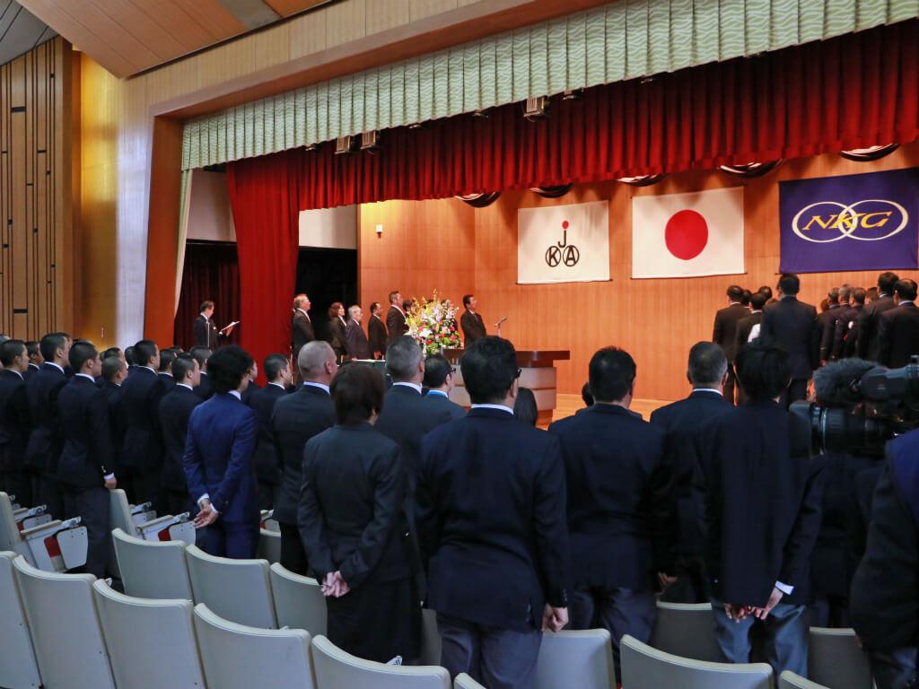 3/24=日本競輪学校生徒卒業式