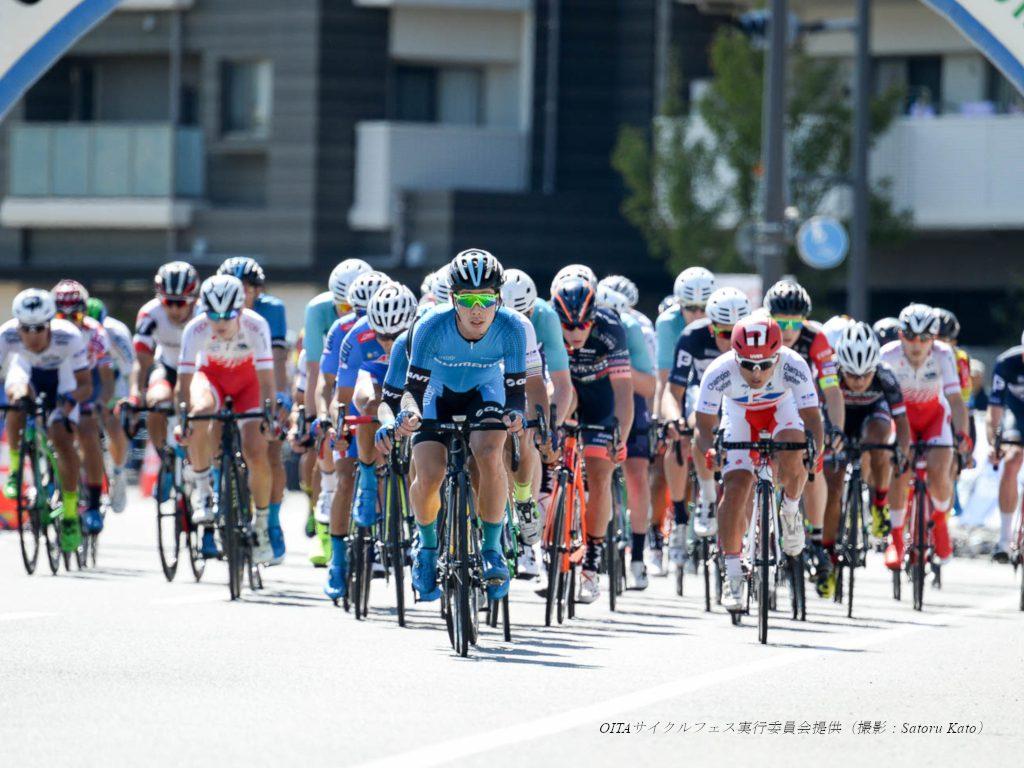 駅前開催の迫力満点レースに大分市民が湧いた!おおいたいこいの道クリテリウム(1日目)