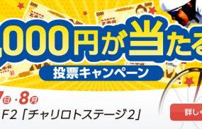 5,000円が当たる!松戸競輪F2「チャリロトステージ2」投票キャンペーン